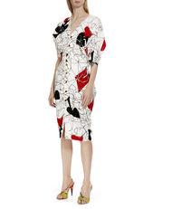Wilma Dress White