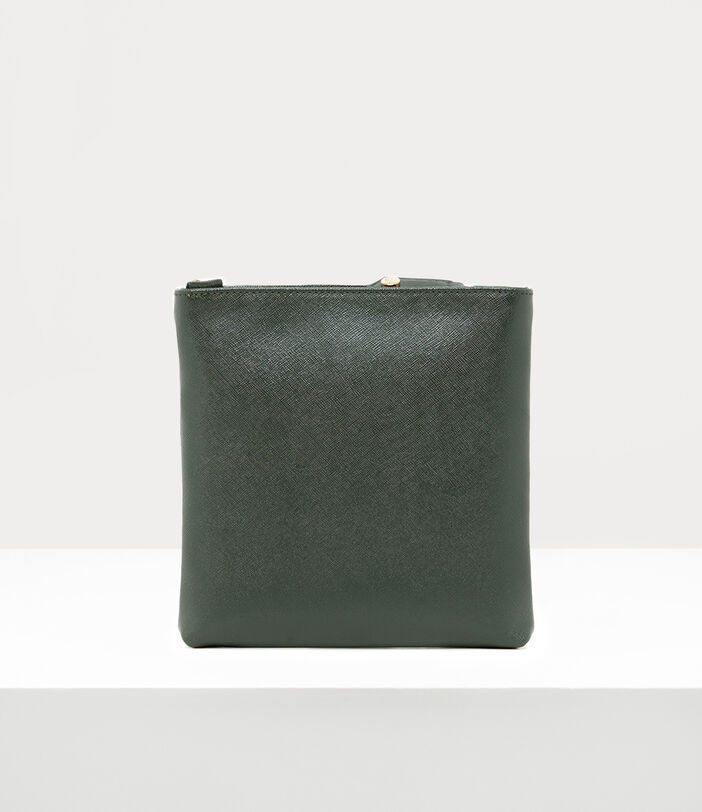 Victoria New Square Crossbody Bag Green 3