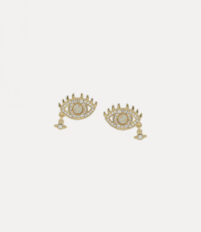 Rahmona Earrings Gold-Tone 1