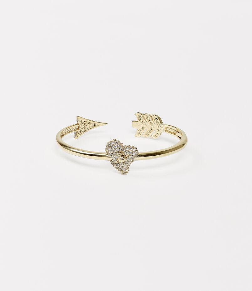 online retailer ed5b7 ae9f4 Luminita Bangle Gold Tone