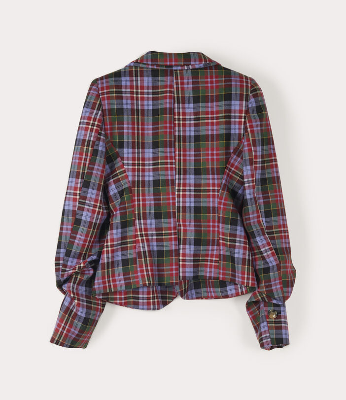 Drunken Tailor Jacket Brick Tartan 2