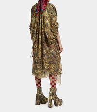 Rihana Dress Hair Print