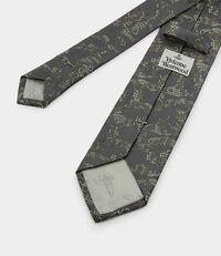 Orb Jacquard Tie Taupe