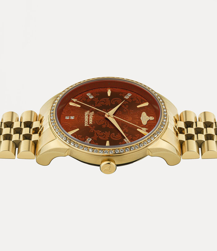 Wallace Watch Red/Gold 3