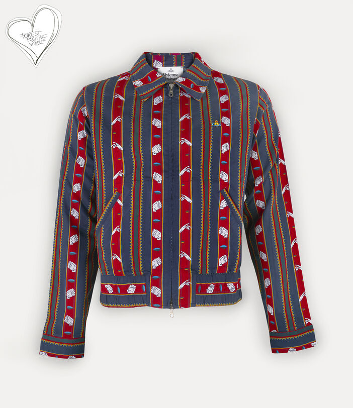Elasticated Shirt Chrissie Stripes 1