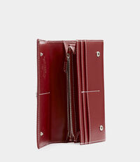 Matilda Long Card Holder Red