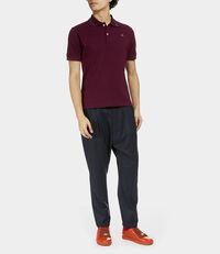 New Polo Short Sleeve Burgundy