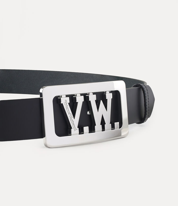 Vw Buckle Belt Black 3