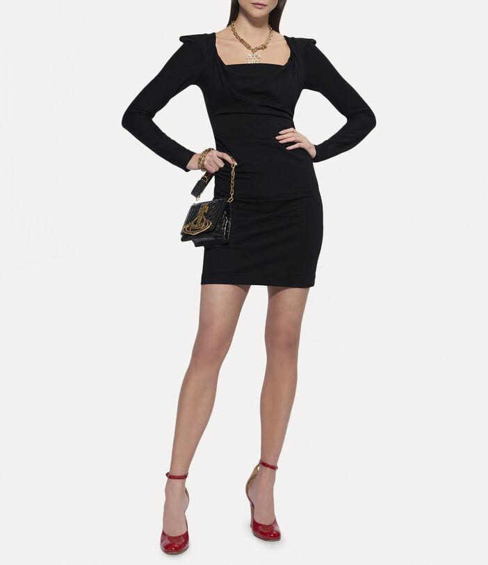 Elizabeth Jersey Dress Black 2