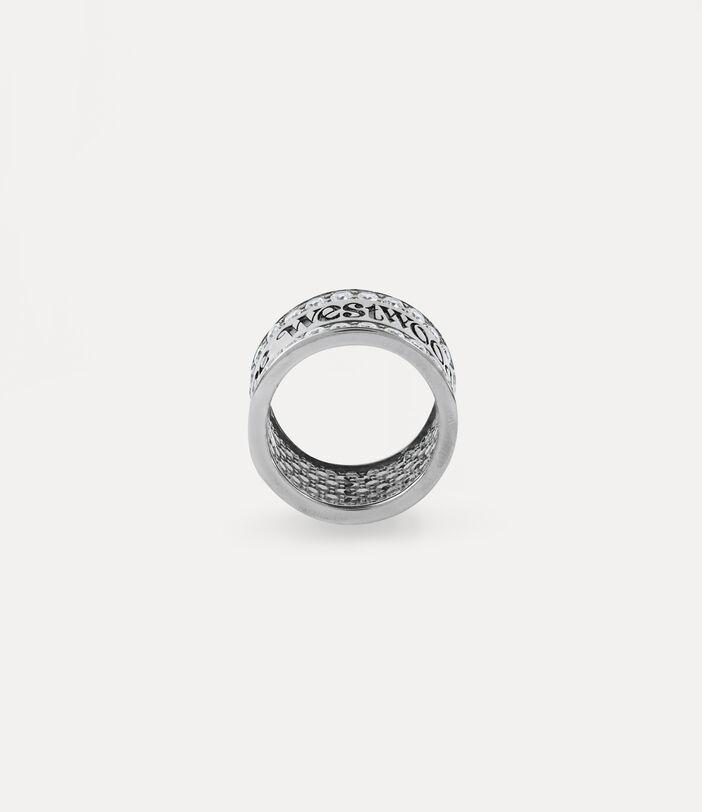 Fosco Ring Silver-Tone 2