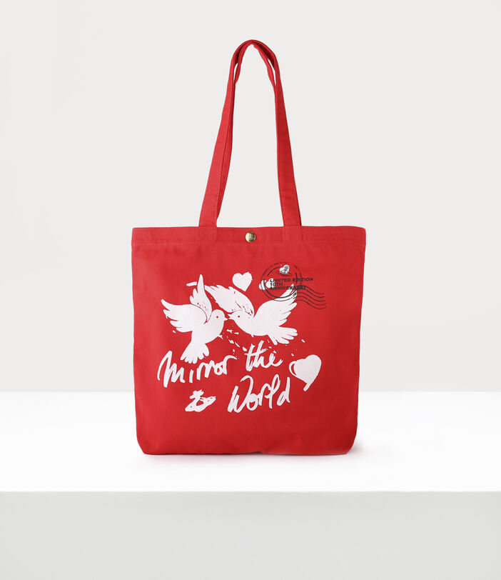 10Th Anniversary Tote Bag Red 1