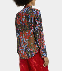 Pianist Shirt Blue Camouflage