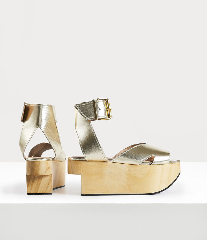 Rocking Horse Pagan Sandal Gold 3