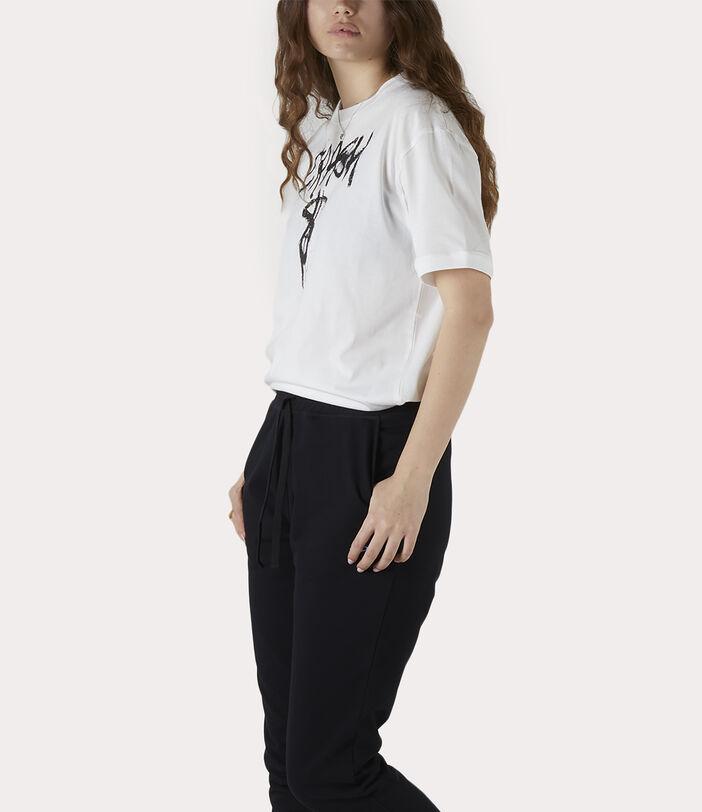 Man Crash T-Shirt White 7