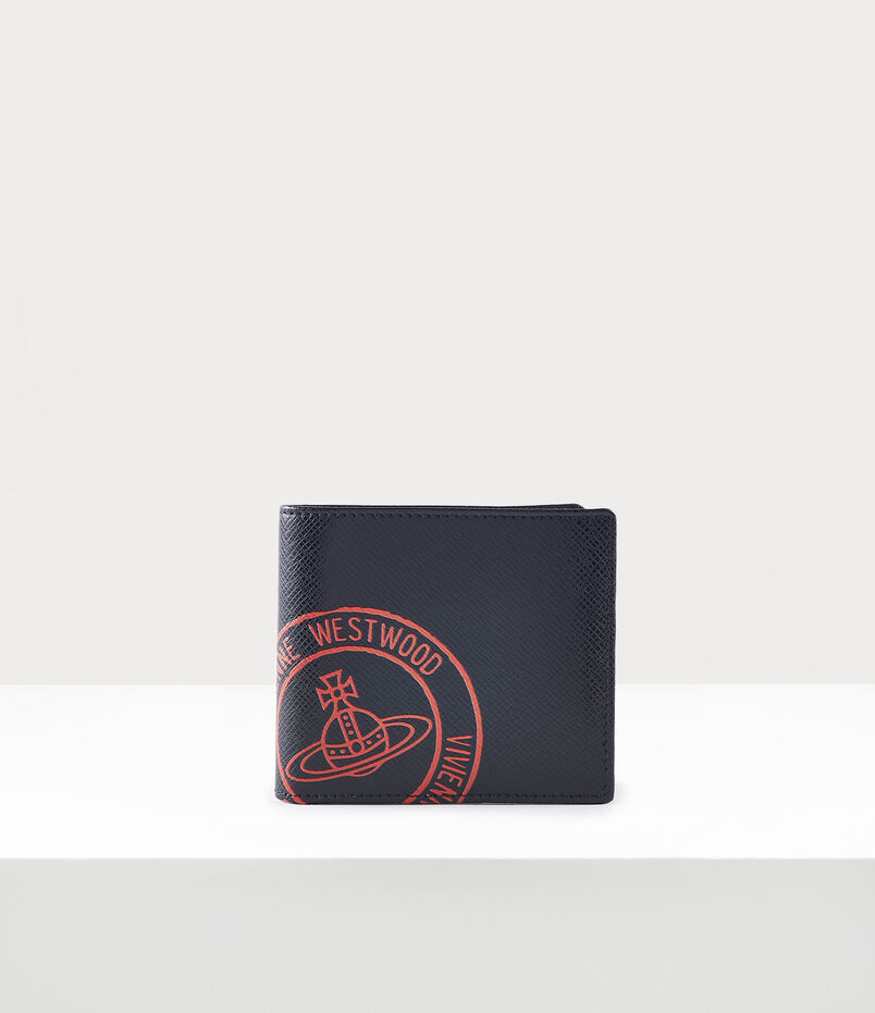 Kent Man Wallet With Coin Pocket Black/Red