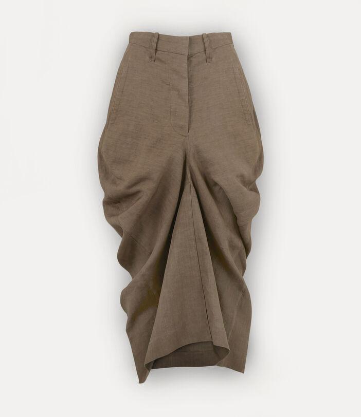 Spontanea Skirt Brown 1