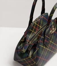 Derby Medium Yasmine Bag Hunting Tartan