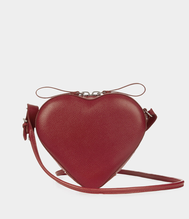 Johanna Heart Crossbody Bag 43030018 Red