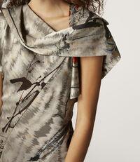 Amnesia Dress Chinese Peony Print