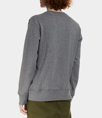 Roundneck Sweater Grey Melange