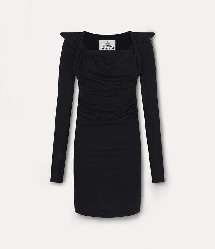 Elizabeth Jersey Dress Black 1