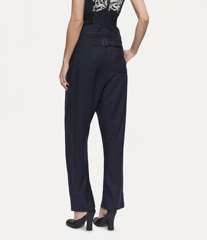 Corset Trousers Navy 4