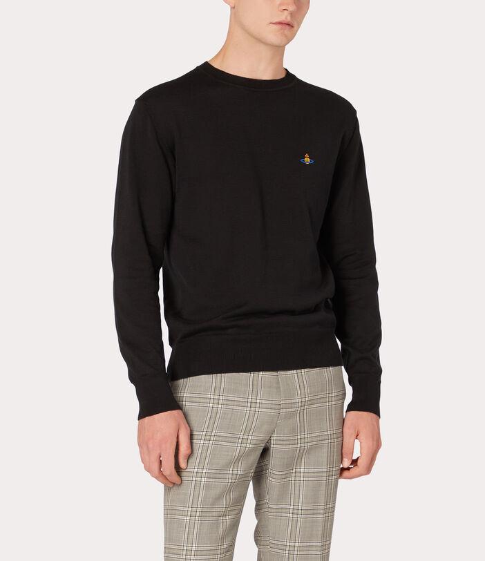 Classic Roundneck Sweater Black 3