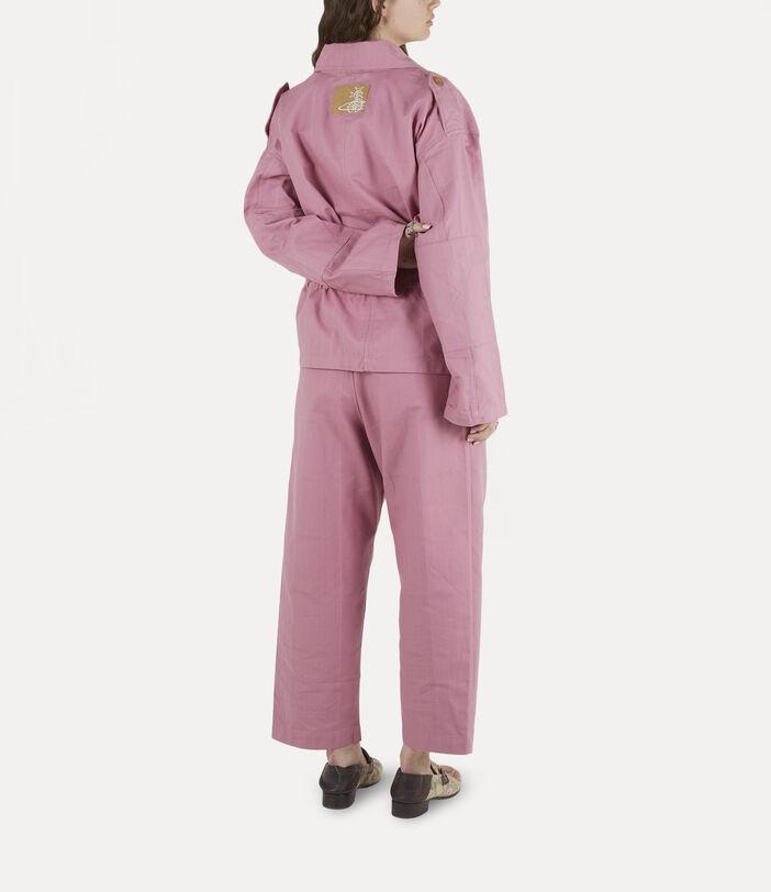 Ben Overshirt Pink Check Herringbone 4