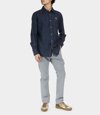 Lars Workman Shirt Blue Denim