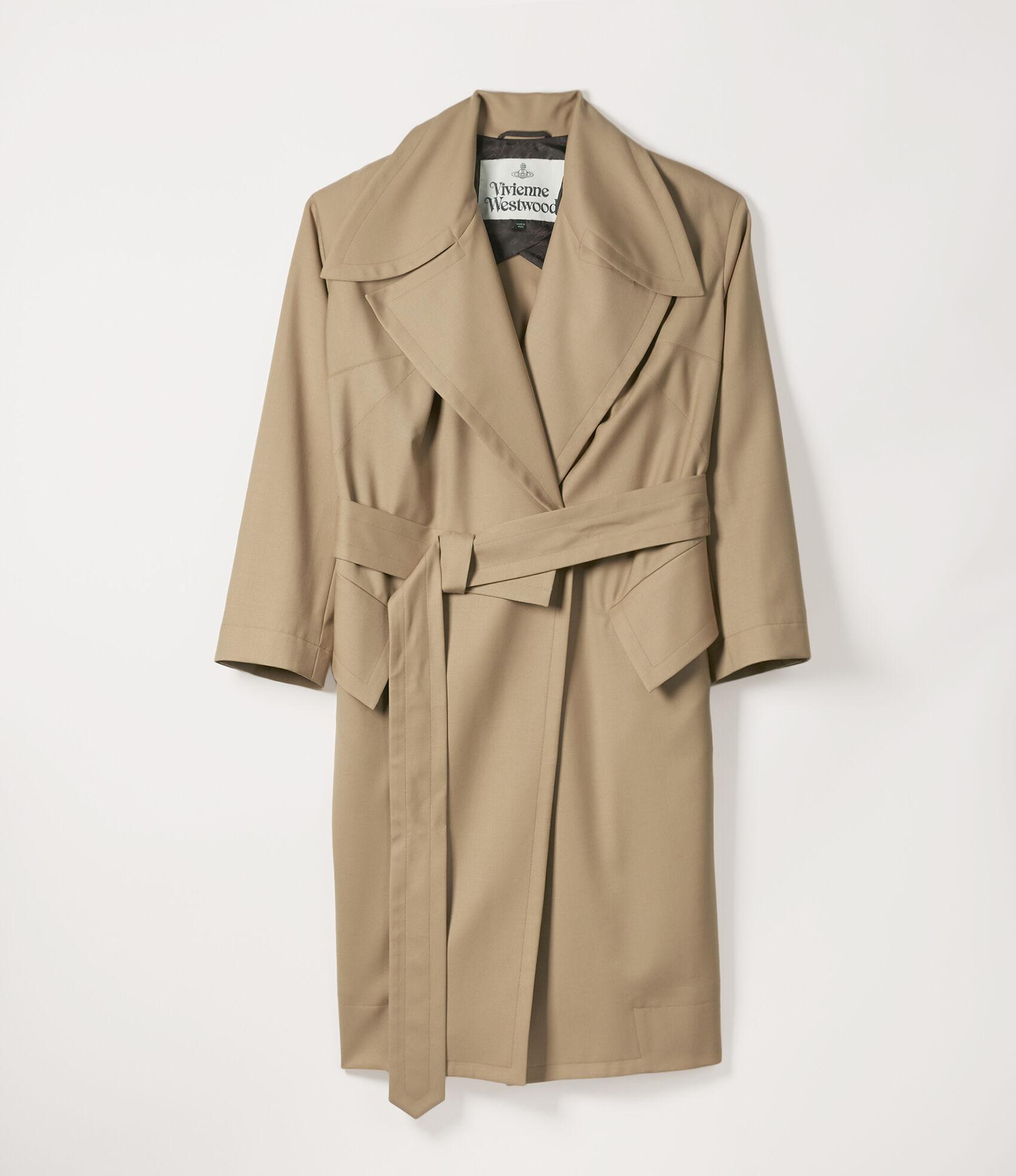 Wilma Wrap Coat in Nude from Vivienne Westwood