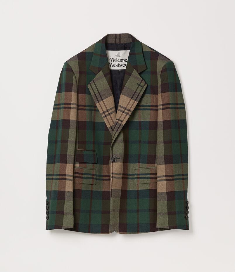 Classic Jacket Green Tartan