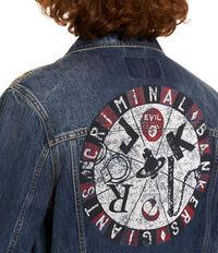 New D. Ace Jacket Blue Denim