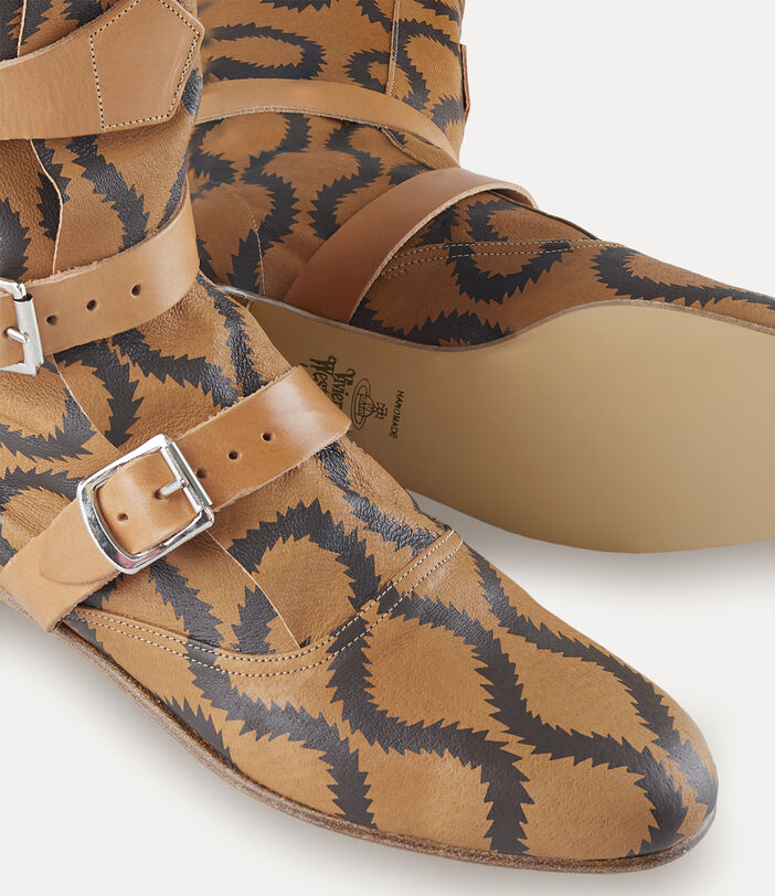 Pirate Boots Tan/Brown 4