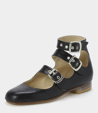 Roman Three Straps Black