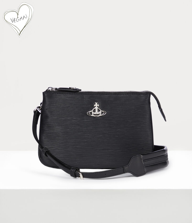 Vivienne Westwood Polly Crossbody Bag Black