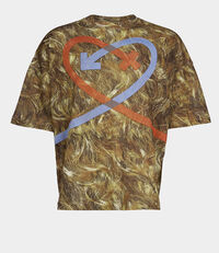 Andreas T-Shirt Hair Print