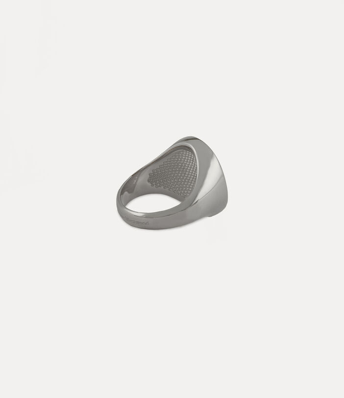 Seal Ring Silver-Tone 3