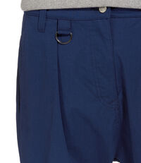 Cropped Dietrich Trousers Blue