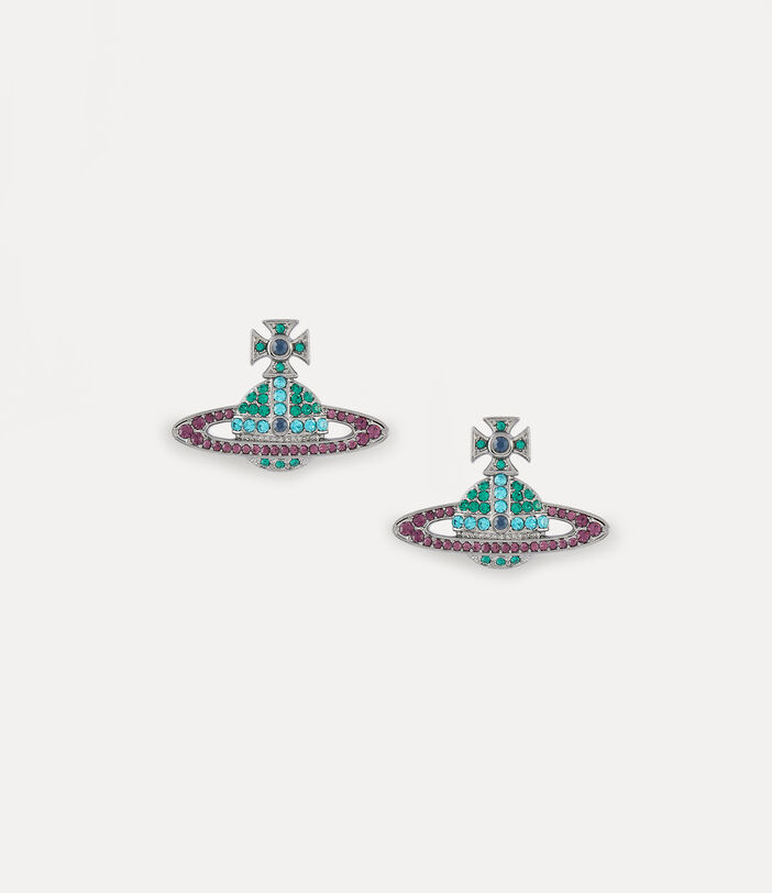 Kika Earrings Gunmetal-Tone 1