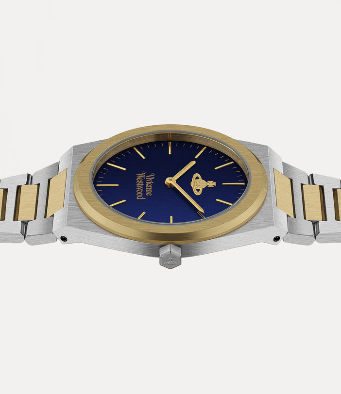 Limehouse Grand Watch Blue/Silver 3