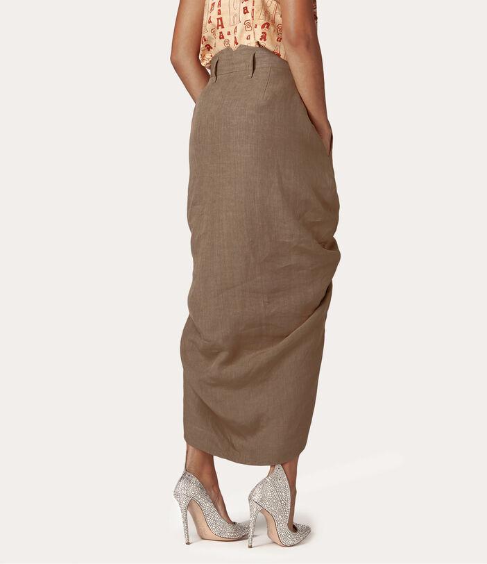 Spontanea Skirt Brown 4
