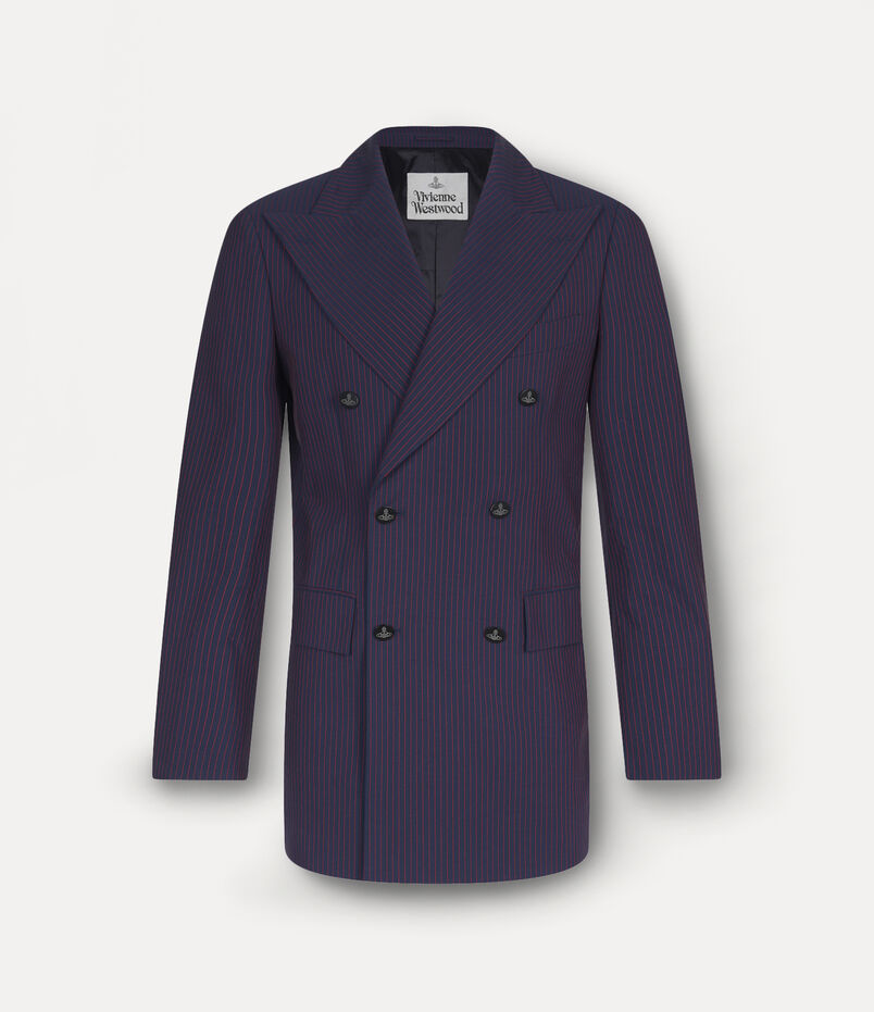 Vivienne Westwood Clothing Double Breasted Jacket Navy