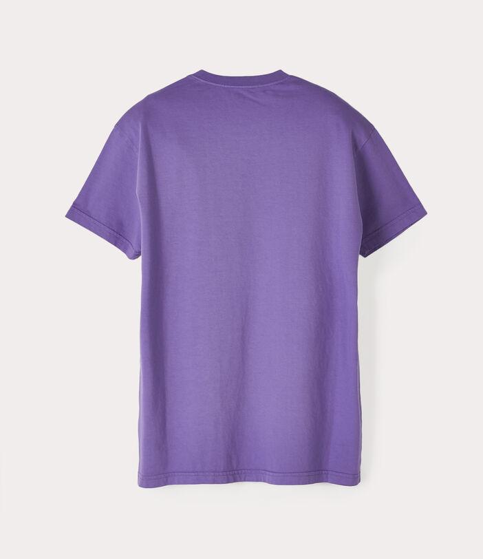 Classic T-Shirt Multicolour Orb Purple 2
