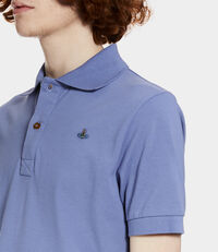 New Polo Short Sleeved Shirt Powder Blue