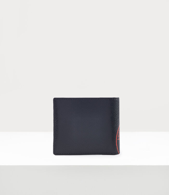 Kent Man Wallet With Coin Pocket Black/Red 3