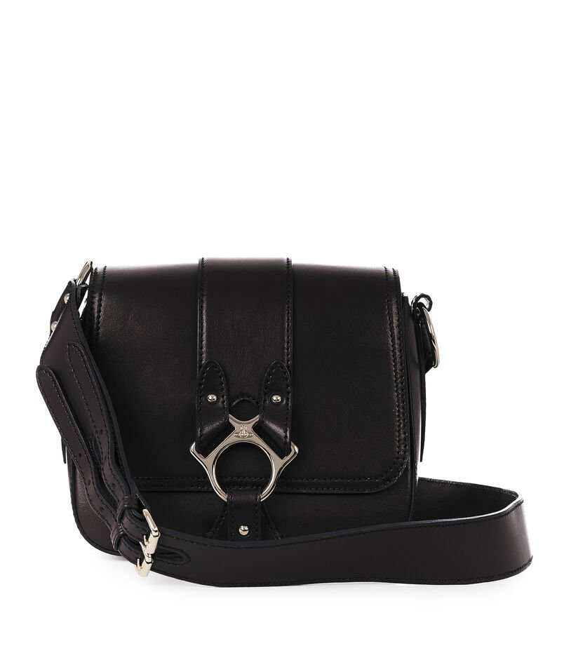 Large Folly Saddle Bag 43050014 Black