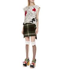 Polina Mini Skirt Camu