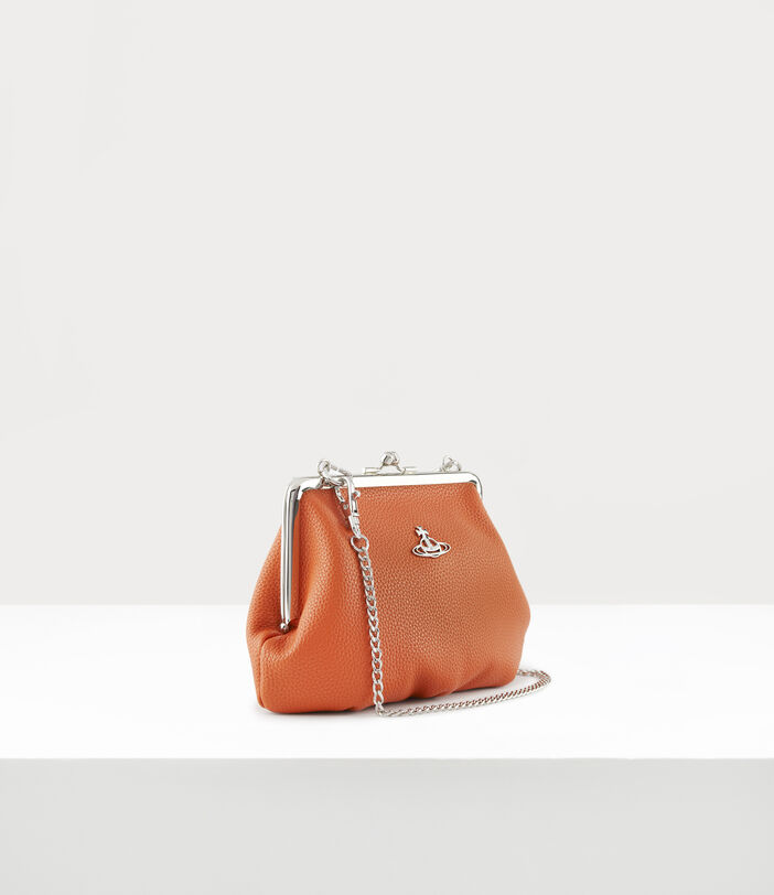 Johanna Frame Purse Orange 2