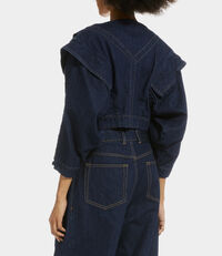 Metal Jacket Blue Denim