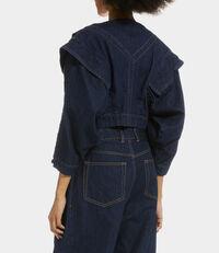 Metal Jacket Blue Denim